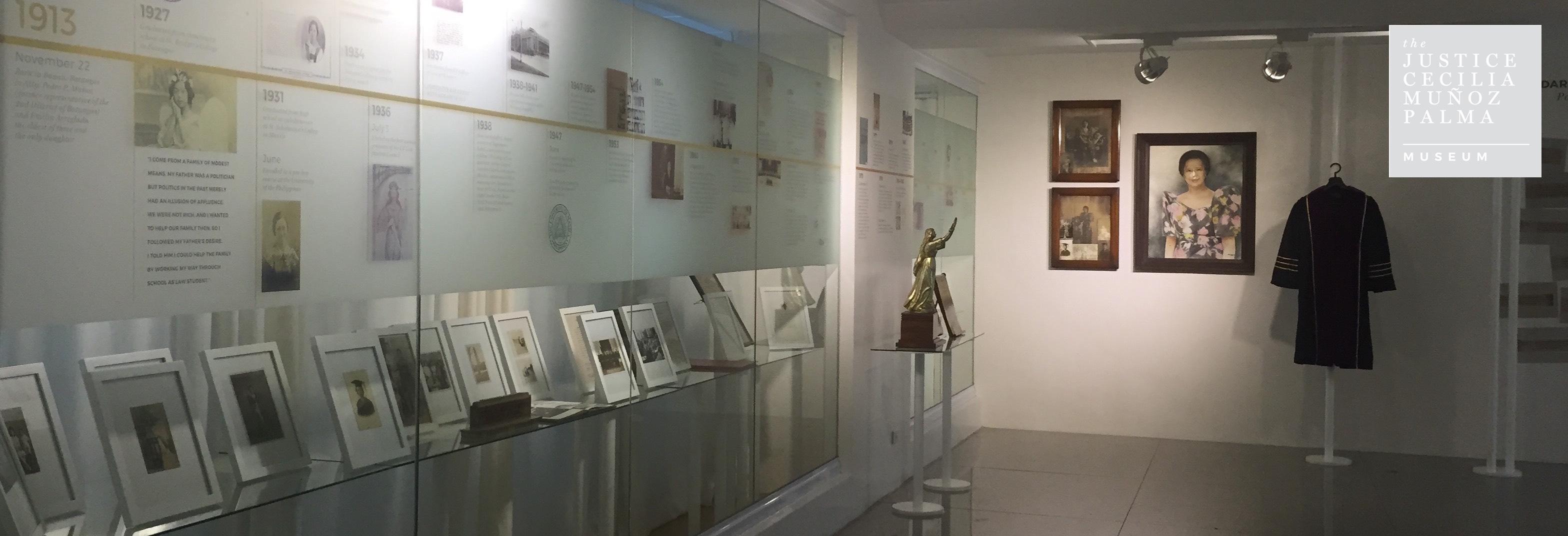 Inspiration awaits you at the Justice Palma Museum